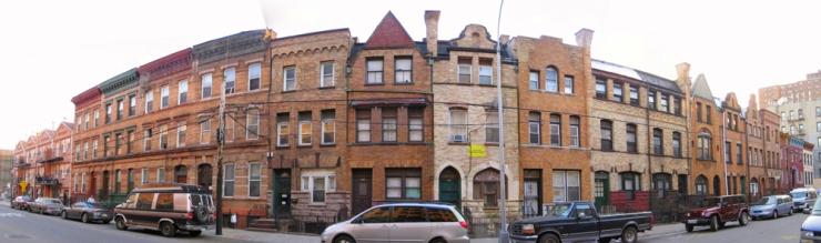 Bertine Block, 136th Street, Mott Haven, Bronx
